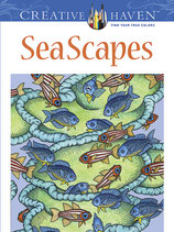 Sea Scapes Coloring Book