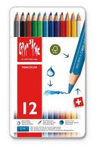Caran d' Ache Fancolor - 12 stuks