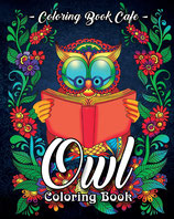 Coloring Book Cafe - Owl