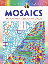 Mosaics Designs with a splash of color