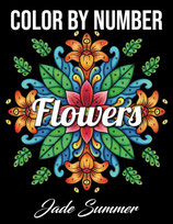 Jade Summer - Color by Number Flowers