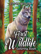 Coloring Book Cafe - Forest Wildlife