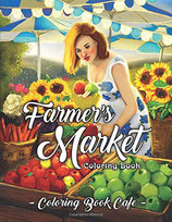 Coloring Book Cafe - Farmer's Market