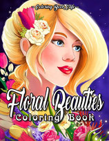 Coloring Book Cafe - Floral Beauties