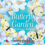 Coloring Book Cafe - Butterfly Garden
