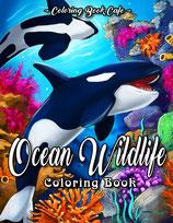 Coloring Book Cafe - Ocean Wildlife