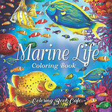Coloring Book Cafe - Marine Life