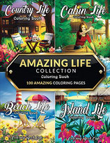 Coloring Book Cafe - Amazing Life Collection