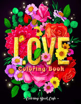Coloring Book Cafe - Love