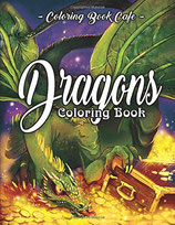 Coloring Book Cafe - Dragons