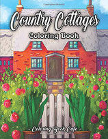 Coloring Book Cafe - Country Cottages