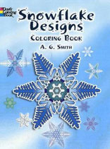 Snowflake Designs - Coloring Book