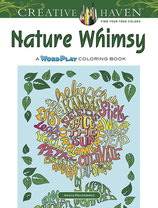 Nature Whimsy: A WordPlay Coloring Book