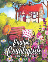 Coloring Book Cafe - English Countryside