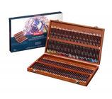 Derwent Coloursoft Wooden box - 72 stuks