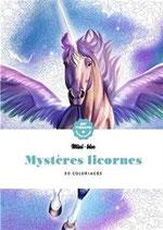 Mini bloc Mystères Licornes - Kleuren op nummer