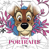 Art Therapy Disney Portraits