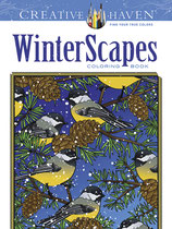 Winterscapes Coloring Book