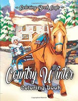 Coloring Book Cafe - Country Winter