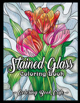 Coloring Book Cafe - Stained Glass