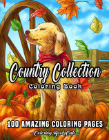 Coloring Book Cafe - Country Collection