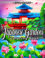 Coloring Book Cafe - Japanese Gardens