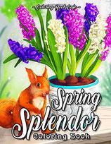 Coloring Book Cafe - Spring Splendor