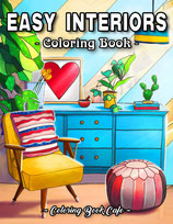 Coloring Book Cafe - Easy Interiors