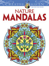 Nature Mandalas Coloring Book