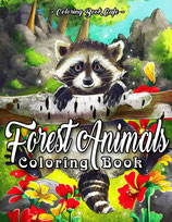 Coloring Book Cafe - Forest Animals