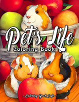 Coloring Book Cafe - Pet's Life