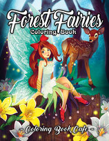 Coloring Book Cafe - Forest Fairies