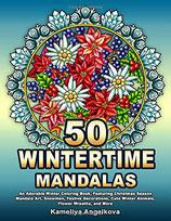 Kameliya Angelkova - 50 Wintertime Mandalas