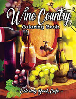 Coloring Book Cafe - Wine Country