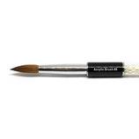 #8 Round Black Jewery - Acryl Pinsel