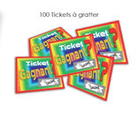 Réf : 08100 Pack de 100 Tickets à gratter