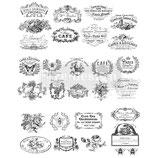 redesign Transferfolie Motiv  -  Classic Vintage Label