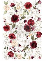 redesign Transferfolie Motiv  -  Midnight Floral