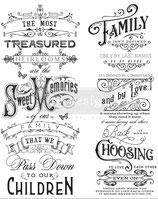 redesign Transferfolie Motiv  -  Family Herlooms