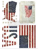 redesign Transferfolie Motiv  -  Patriotic
