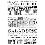 redesign Transferfolie Motiv  -  Delicious Menu