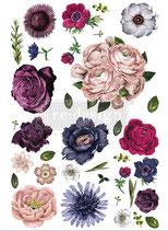 redesign Transferfolie Motiv  -  Lush Florall II
