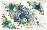 redesign Transferfolie Motiv  - Cosmic Roses