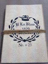 """Notizbuch """"Französisches Wappen"""""""
