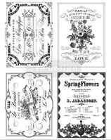 Redesign Transferfolie Motiv  -  Spring Flowers