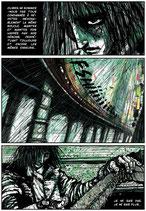 Planche Originale BD n°15 du tome -2 la Chrysalide.