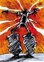 Planche Originale BD n° 123 du tome 0 L'Aube Rouge