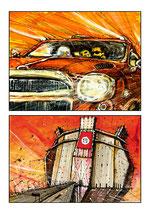 Planche Originale BD n°148 du tome -2 la Chrysalide.