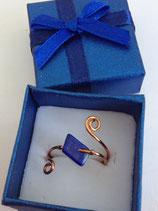Bague Lapis Lazuli losange