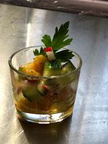 Gurken-Radieschensalat